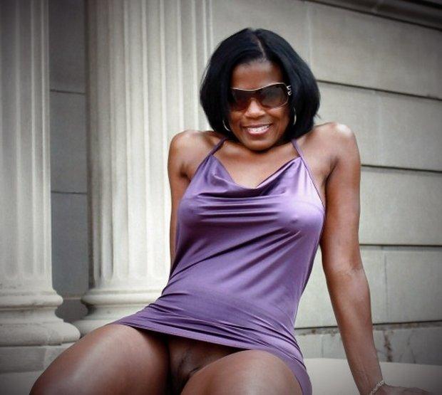 Belle femme cougar de Guyane