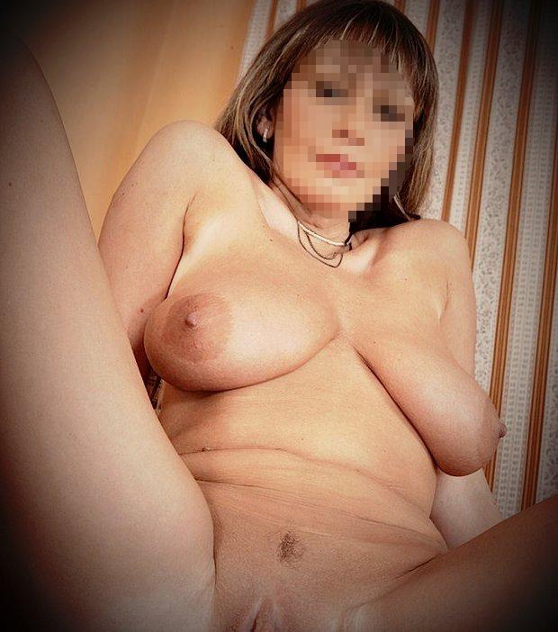 Snapchat hot avec une cougar nue
